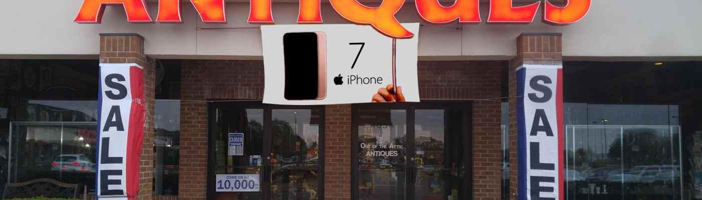 iPhone 8 apple iPhone X antique 7
