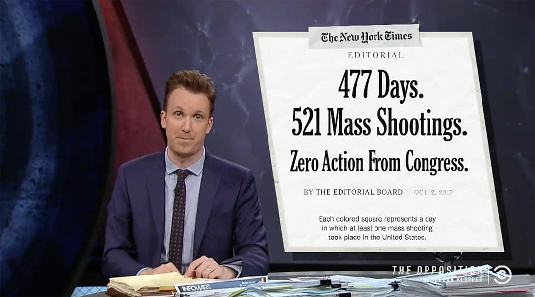 the opposition jordan klepper gun control