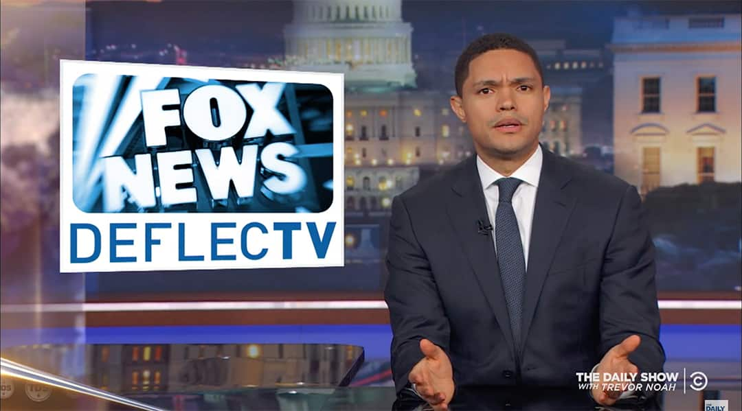 las vegas shooting fox news trevor noah daily show