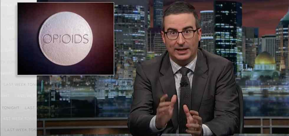 john oliver lanx last week tonight donald trump opioid crisis