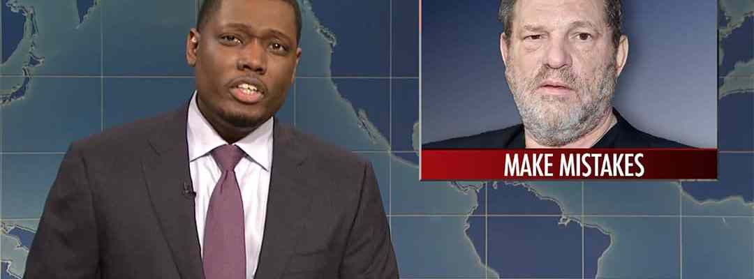 snl harvey weinstein michael che colin jost