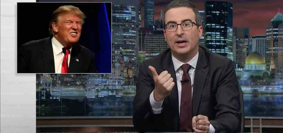 lanx john oliver donald trump manafort gates papadopoulos indictments