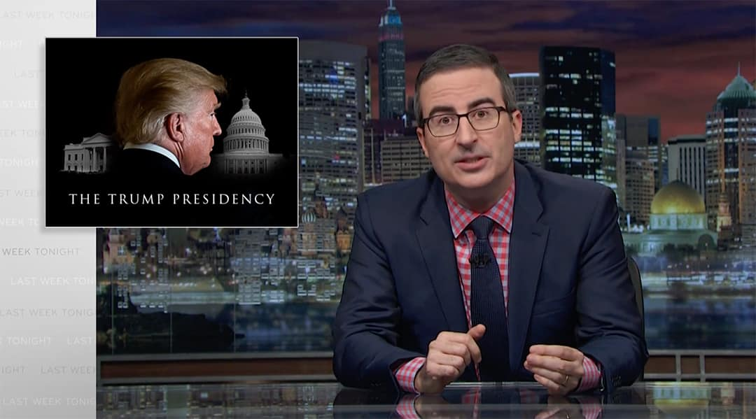 lanx john oliver last week tonight whataboutism trolling trump
