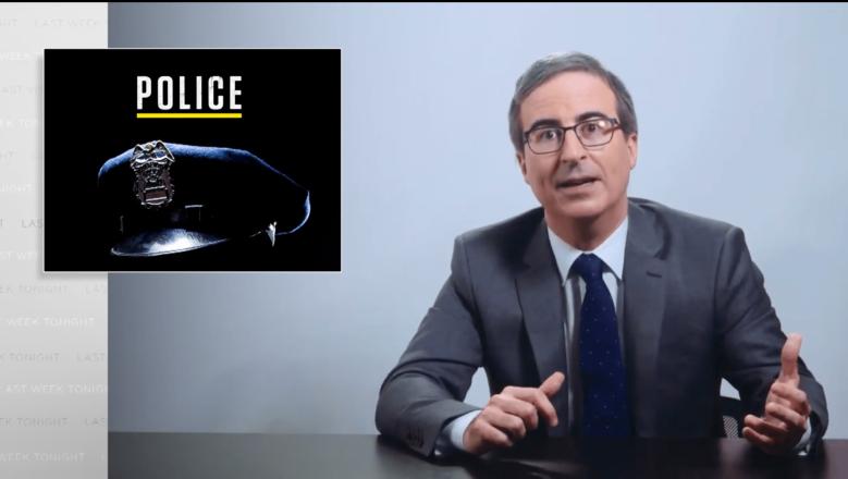 john oliver police brutality